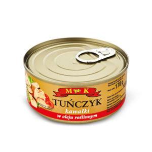 Tuńczyk kawałki w oleju 170g