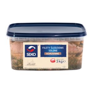 Filety śledziowe korzenne 2,5/3kg