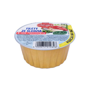 Filety śledziowe w sosie pomidorowym z jalapeno 115g
