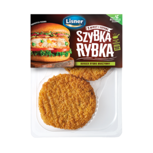 Szybka Rybka – burgery rybno – warzywne 130g