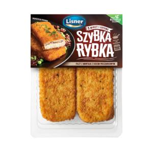 Szybka Rybka – filety z mintaja w sosie pieczarkowym 170g