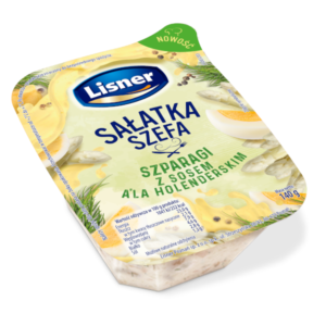 Sałatka Szefa – szparagi z sosem a'la holenderskim 140g