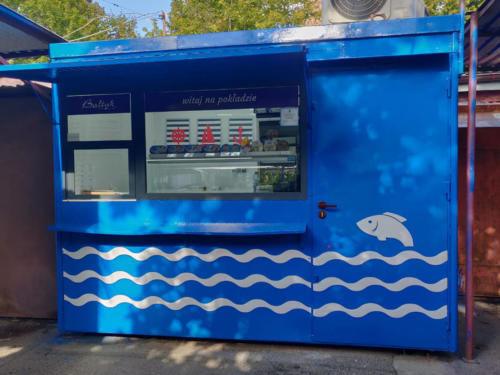 Kiosk rybny Bałtyk Legnica 1