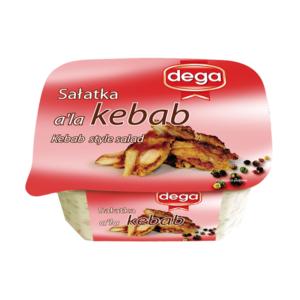 Sałatka kebab 280g