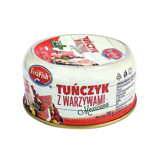 Tuńczyk z warzywami Mexicana 280g